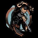 Ninja man keris