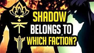 Shadow Belongs To Which Faction? DYNASTY LEGION HERALD Shadow fight 3 Chapter 5