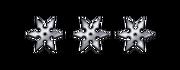 Ranged silver shurikens