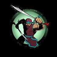 Ninja man chinese sabers