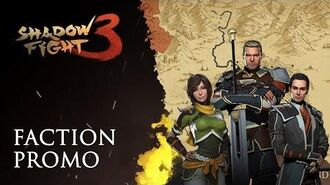 """Shadow Fight 3 """"Faction"""" promo"""