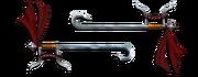 Weapon ceremonial shuang gou