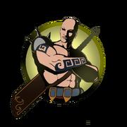 Man big sword