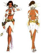 Lucia secret dress front to back