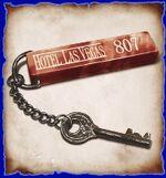 Key to room 807