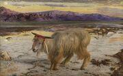 William Holman Hunt - The Scapegoat