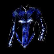 Rubber suit
