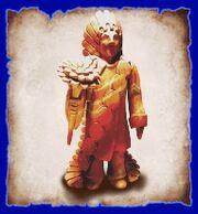 Chahuru statue