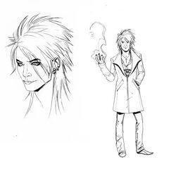 Diseño del personaje Magnus