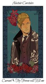 Virágos kártya Alastair