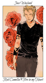Virágos kártya Jace