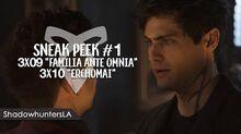 """3x09 """"Familia Ante Omnia"""" 3x10 """"Erchomai"""" - Sneak Peek 1"""