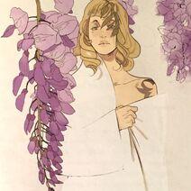 Virágos kártya Celine