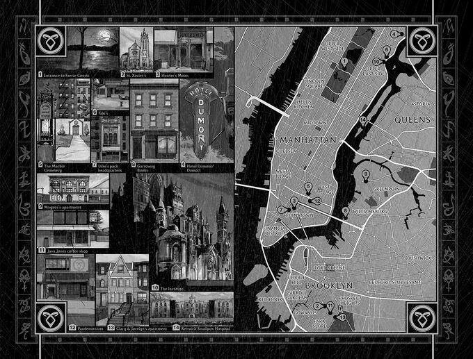 ОС карта Нью-Йорка