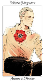 Virágos kártya Valentine