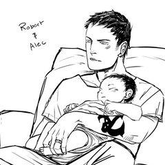 Роберт и малыш <a href=