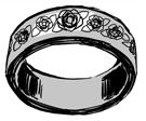 КД кольцо Розалес