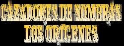 Cazadores de Sombras - Los Orígenes logo en español