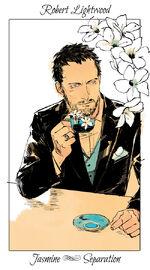 Virágos kártya Robert