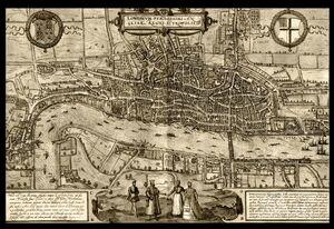 Карта - Старый Лондон