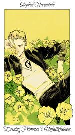 Virágos kártya Stephen
