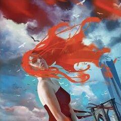Постер Клэри из особого издания от Александра Таини