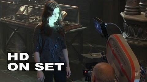 The Mortal Instruments City of Bones Behind the Scenes Part 1 of 3 (Broll)