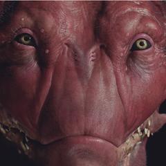 Detalle del modelo de la forma demoníaca de Lilith