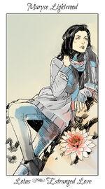 Virágos kártya Maryse
