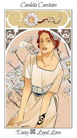 Virágos kártya Cordelia