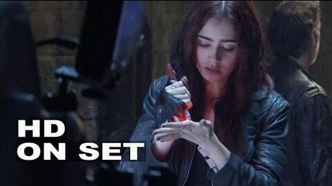 The Mortal Instruments City of Bones Behind the Scenes Part 3 of 3 (Broll)