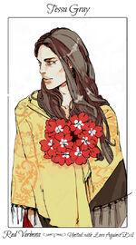 Virágos kártya Tessa2