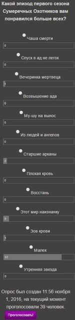 Голосование 13