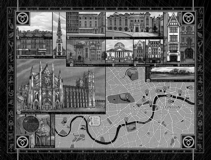 АМ карта Лондона