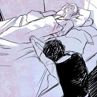 Уилл у кровати Джема