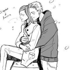 Стивен и Аматис