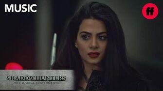 "Shadowhunters Season 3, Episode 10 Music Ruelle - ""Fire Meets Fate"" Freeform"