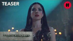 Shadowhunters Season 3 Teaser Lilith Is Coming Freeform