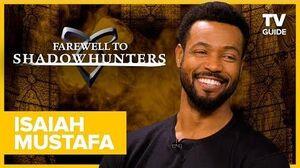 """Farewell to Shadowhunters Isaiah Mustafa Talks """"Racy"""" Bloopers with Matthew Daddario"""