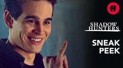 Shadowhunters Season 3, Episode 16 Sneak Peek Simon & Izzy Make a Pact to Stay Single Freeform