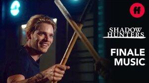 "Jace & Simon Training Shadowhunters Series Finale Music Whitney Myer - ""Click Ya Heelz"""