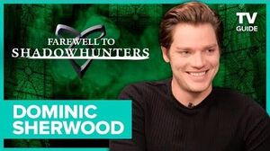 Farewell to Shadowhunters Dominic Sherwood Relives That Clace Kiss in Paris