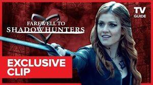Farewell to Shadowhunters Dominic Sherwood Accidentally Stabbed Himself Fighting Katherine McNamara