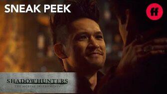 Shadowhunters Season 3, Episode 10 Sneak Peek Magnus Tells Alec He Is Going To Edom Freeform