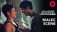 "Shadowhunters Season 3, Episode 12 Malec Training Scene Music Mattis - ""The Chain"""