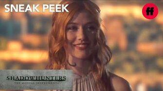 Shadowhunters Season 3, Episode 1 Sneak Peek Clary's Angelic Rune Ceremony Freeform