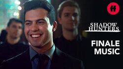 """Raphael's Happy For Sizzy Shadowhunters Finale Music Joshua Radin - """"What A Wonderful World"""""""