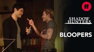 Shadowhunters Season 3B Bloopers Part 1 Freeform