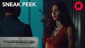 Shadowhunters Season 2, Episode 19 Sneak Peek Raphael Apologizes To Izzy Freeform