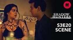 Shadowhunters Season 3, Episode 20 Simon Thanks Izzy For Saving His Life Freeform